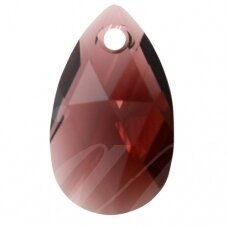 Swarovski 6106 Pear 16mm Burgundy