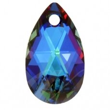 Swarovski 6106 Pear 16mm Crystal Meridian Blue