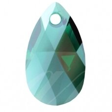 Swarovski 6106 Pear 16mm Emerald Moonlight