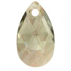 Swarovski 6106 Pear 22mm Black Diamond Moonlight