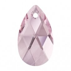 Swarovski 6106 Pear 22mm Light Rose