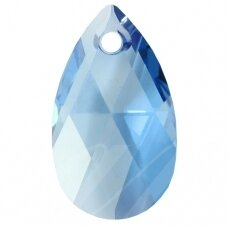 Swarovski 6106 Pear 28mm Aquamarine Blue Shade