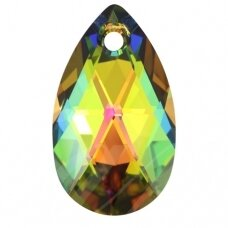 Swarovski 6106 Pear 28mm Crystal Vitrail Medium
