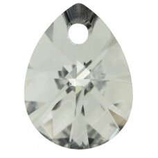 Swarovski 6128 Mini Pear 10mm Crystal Comet Argent Light (4 vnt)