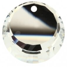 Swarovski 6210 Round 17mm Crystal Comet Argent Light