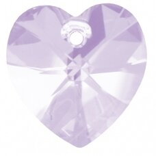 Swarovski 6228 XILION Heart 14.4x14mm Violet Moonlight (2 vnt)