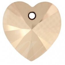 Swarovski 6228 XILION Heart 18x17.5mm Crystal Rose Gold