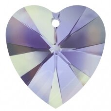 Swarovski 6228 XILION Heart 28mm Crystal Vitrail Light