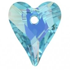 Swarovski 6240 Wild Heart 17mm Aquamarine AB