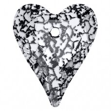 Swarovski 6240 Wild Heart 27mm Crystal Black Patina