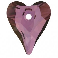Swarovski 6240 Wild Heart 27mm Crystal Lilac Shadow