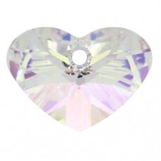 Swarovski 6260 Crazy 4 U Heart 37mm Crystal AB