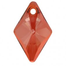 Swarovski 6320 Rhombus 27mm Crystal Red Magma