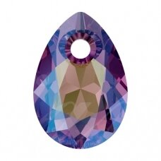 Swarovski 6433 Pear Cut 16mm Amethyst Shimmer