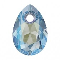 Swarovski 6433 Pear Cut 16mm Aquamarine Shimmer