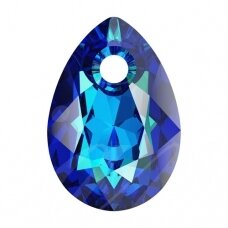 Swarovski 6433 Pear Cut 16mm Crystal Bermuda Blue