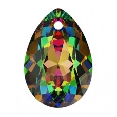 Swarovski 6433 Pear Cut 16mm Crystal Vitrail Medium