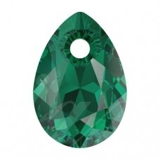 Swarovski 6433 Pear Cut 16mm Emerald
