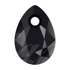 Swarovski 6433 Pear Cut 16mm Jet