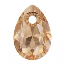 Swarovski 6433 Pear Cut 16mm Light Colorado Topaz