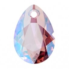 Swarovski 6433 Pear Cut 16mm Light Rose Shimmer