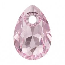 Swarovski 6433 Pear Cut 16mm Light Rose