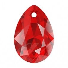 Swarovski 6433 Pear Cut 16mm Light Siam