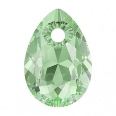 Swarovski 6433 Pear Cut 16mm Peridot