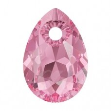 Swarovski 6433 Pear Cut 16mm Rose