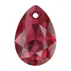 Swarovski 6433 Pear Cut 16mm Scarlet
