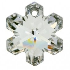 Swarovski 6704 Snowflake 20mm Crystal Comet Argent Light