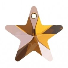 Swarovski 6715 Star 14mm Crystal Copper (4 vnt)
