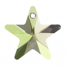 Swarovski 6715 Star 20mm Crystal Luminous Green