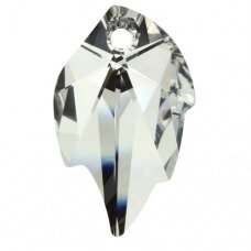Swarovski 6735 Leaf 26x16mm Crystal Comet Argent Light