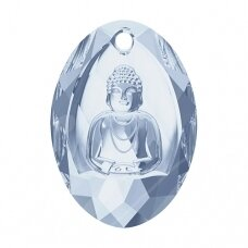 Swarovski 6871 Buddha 28x19.8mm Crystal Blue Shade