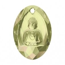 Swarovski 6871 Buddha 28x19.8mm Crystal Luminous Green