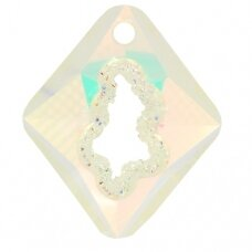 Swarovski 6926 Growing Rhombus 36mm Crystal AB