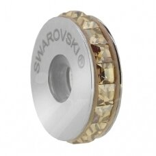 Swarovski 81001 BeCharmed Pavé Fiksatorius 13mm Crystal Golden Shadow