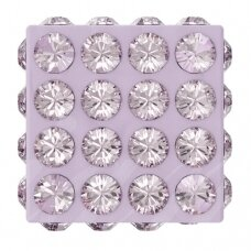 Swarovski 86401 Pavé Cube 8mm Light Amethyst