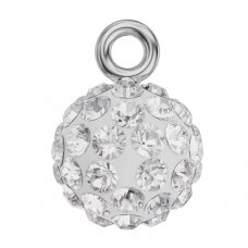 Swarovski BeCharmed Blazing Ball 9x6.5mm Crystal
