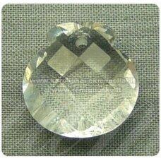 swp0001-1kt-16x16x9 apie 16 x 16 x 9 mm, skaidrus, pakabukas, 1 vnt.