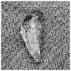 swp0001-ilt-29x12x7 apie 29 x 12 x 7 mm, ilties forma, skaidrus, pakabukas, 1 vnt.