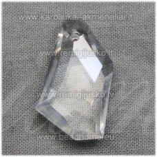 SWP0001-KIT-24x14x7 apie 24 x 14 x 7 mm, netaisyklinga forma, skaidrus, pakabukas, 1 vnt.