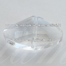 SWP0001-KIT2-14x24x9 apie 14 x 24 x 9 mm, netaisyklinga forma, skaidrus, pakabukas, 1 vnt.