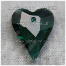 swp0210-sird-21x17x8 apie 21 x 17 x 8 mm, širdutės forma, elektrinė spalva, pakabukas, 1 vnt.