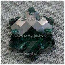 swp0210-snai-20x18x7 apie 20 x 18 x 7 mm, snaigės forma, skaidrus, tamsi, elektrinė spalva, 1 vnt.