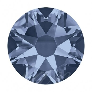 Swarovski 2088 XIRIUS Rose SS12 (3.2mm) Denim Blue (80 pcs)