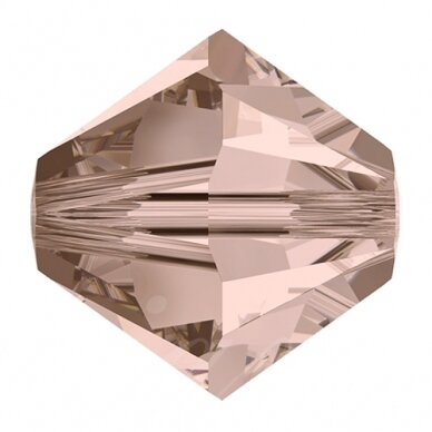 Swarovski 5328 Bicone 4mm Vintage Rose (25 pcs)