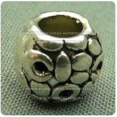 tr0128 apie 8.5 x 9.5 mm, metalinis intarpas, 1 vnt.