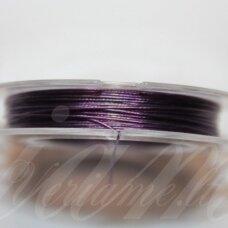 TRS0069-0.45 apie 0.45 mm, violetinė spalva, troselis, 10 m.